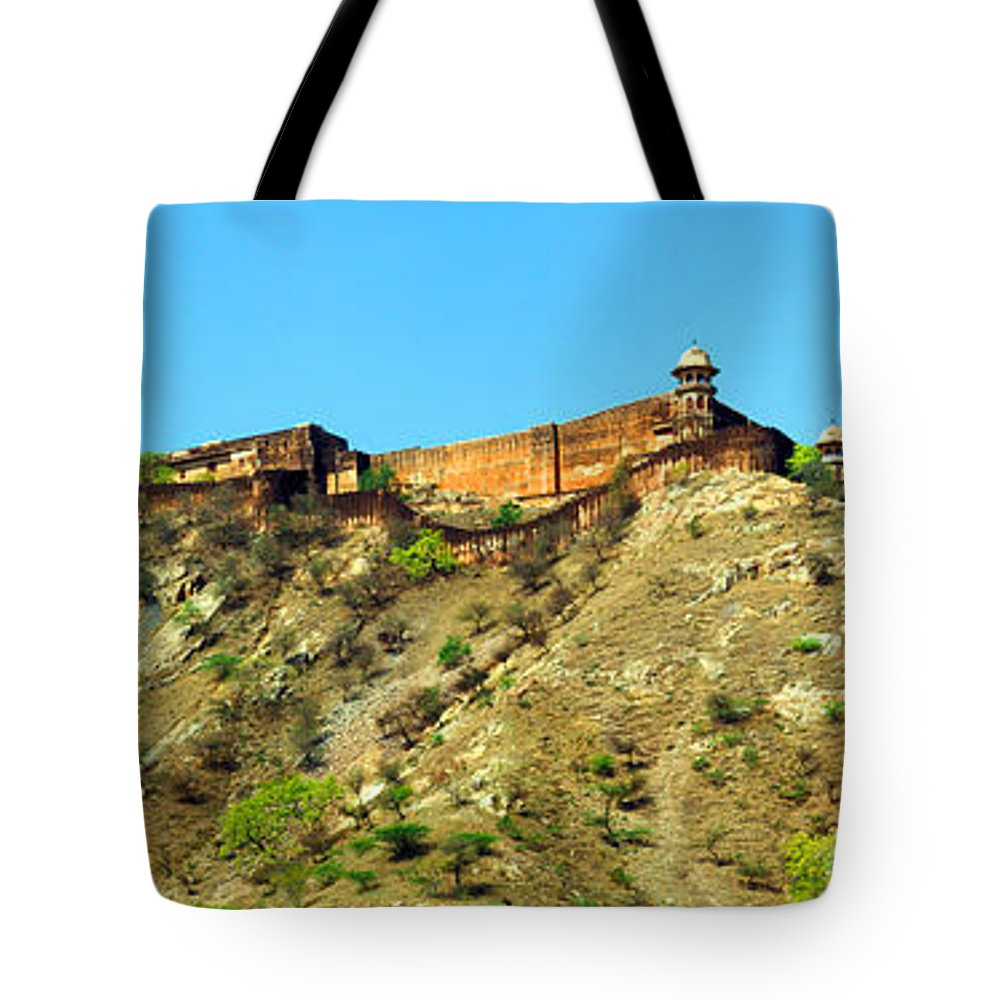Jaigarh Fort Tote Bag featuring the photograph Jaigarh Fort by C H Apperson