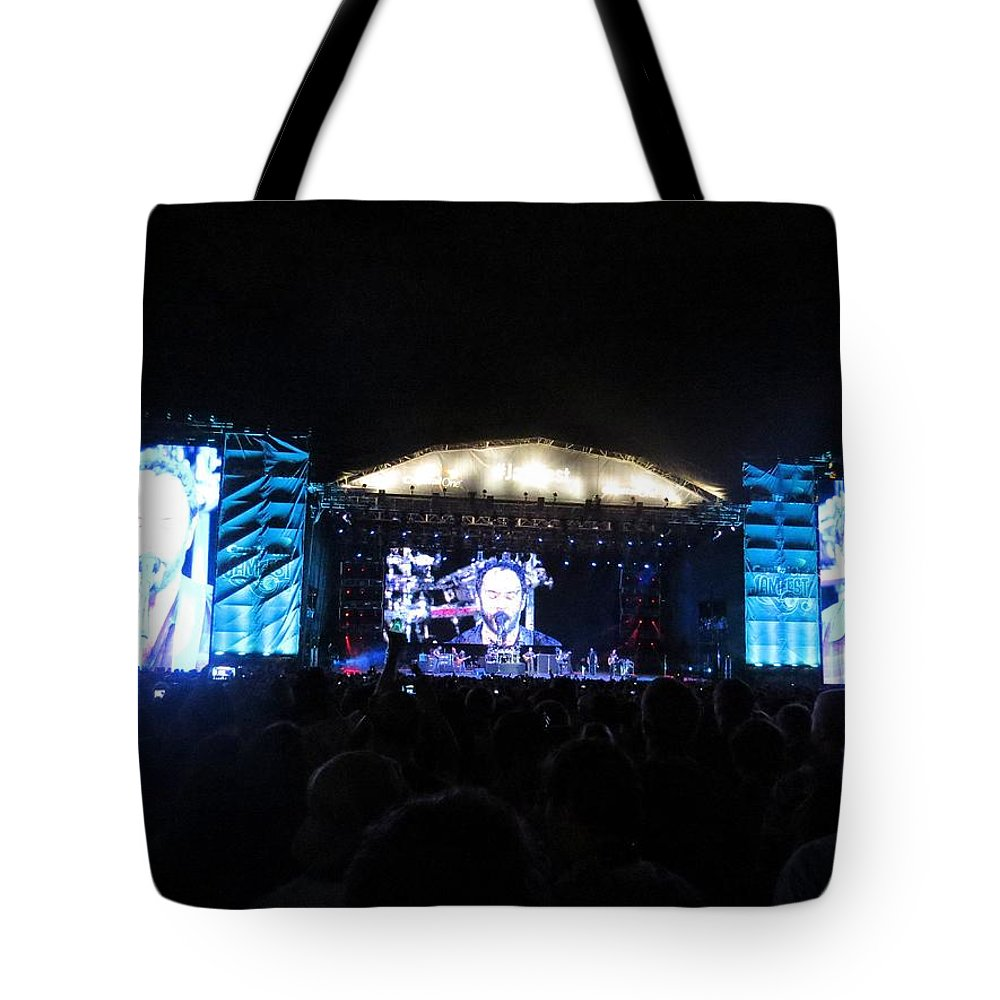 Jamfest Tote Bag featuring the photograph Jamfest by Aaron Martens