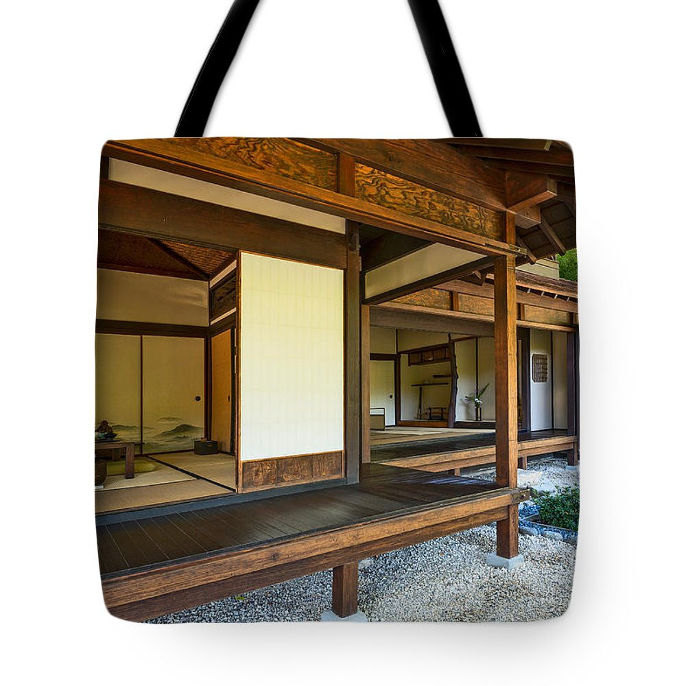 Japanese Tea House At The Huntington Librarys Japanese Garden Tote Bag For Sale By Jamie Pham