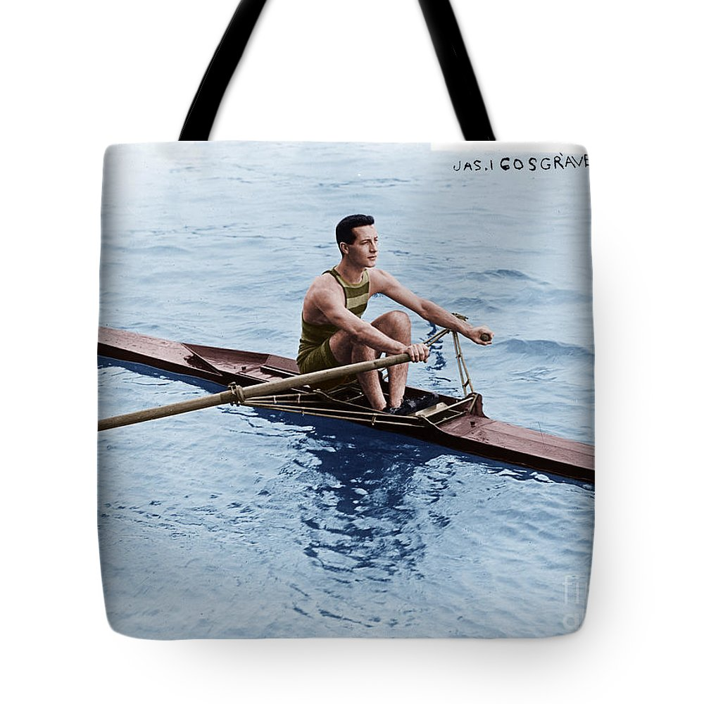 Jas Cosgrave Tote Bag featuring the photograph Jas Cosgrave by Celestial Images