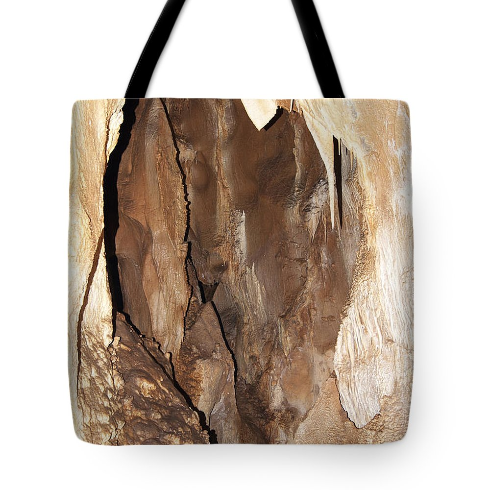 Cave Tote Bag featuring the photograph Javoricko Stalactite Cave by Michal Boubin