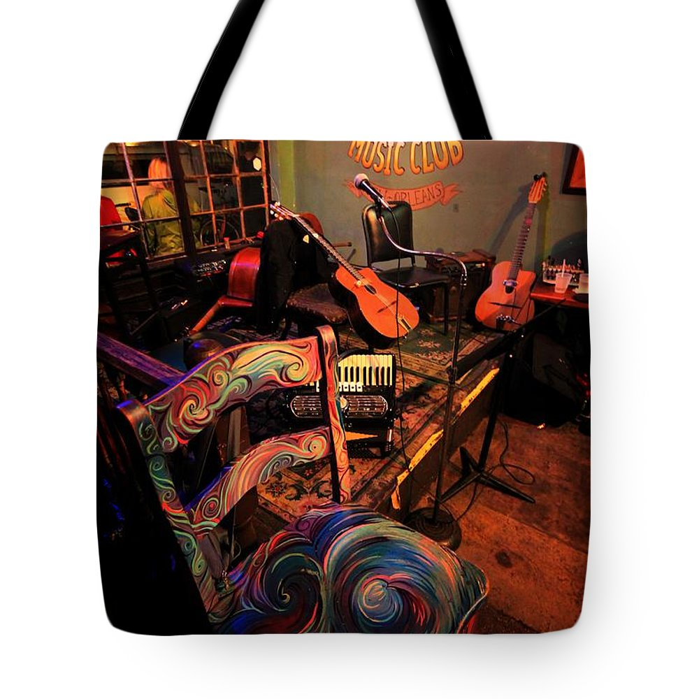 Still Life Tote Bag featuring the photograph Jazza Matazz by Robert McCubbin