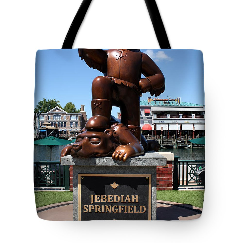 Orlando Tote Bag featuring the photograph Jebediah by David Nicholls