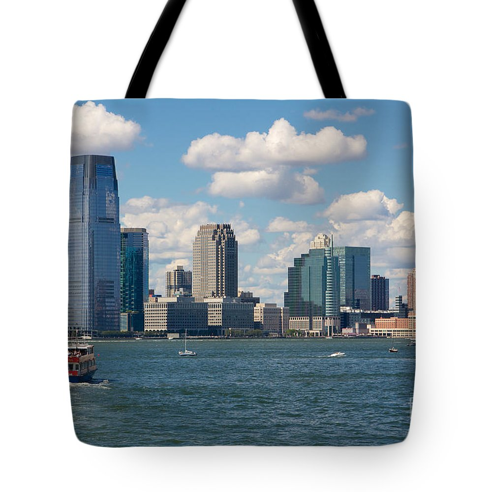America Tote Bag featuring the photograph Jersey City by Jannis Werner