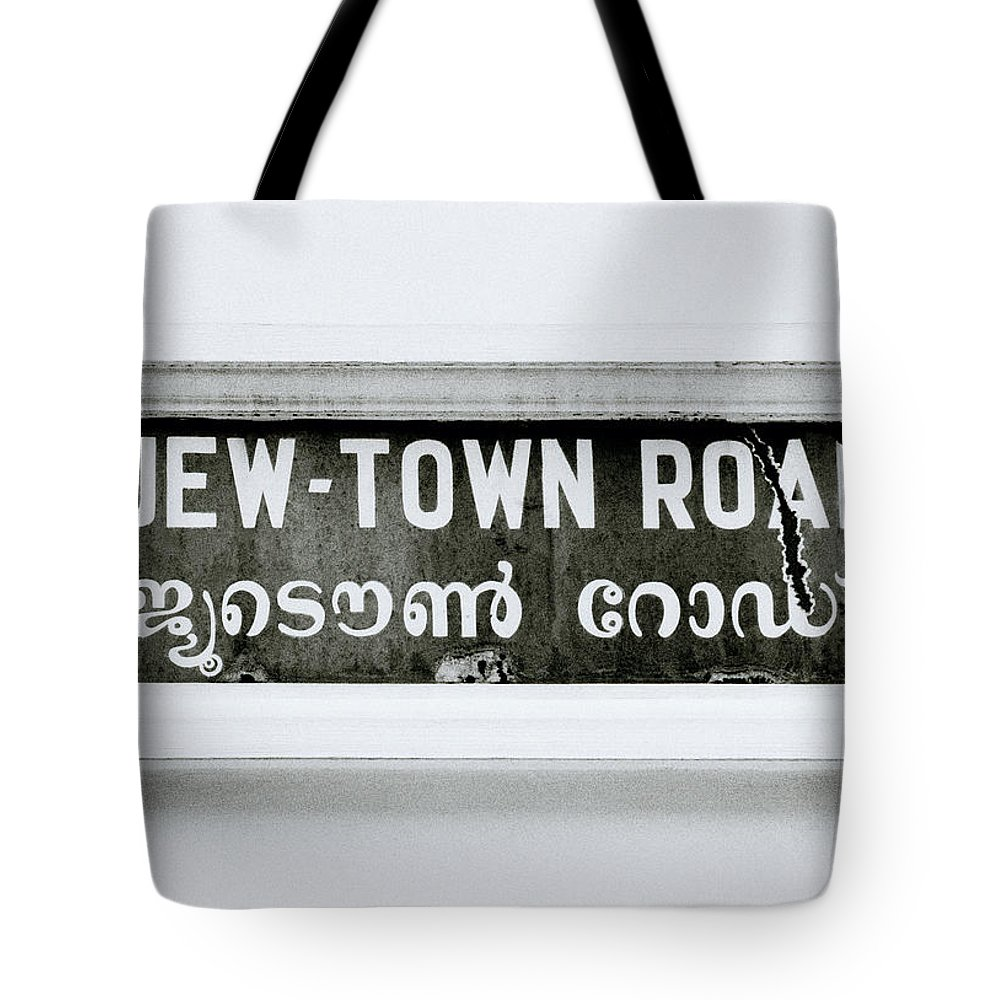 Jew Tote Bag featuring the photograph Jew Town by Shaun Higson
