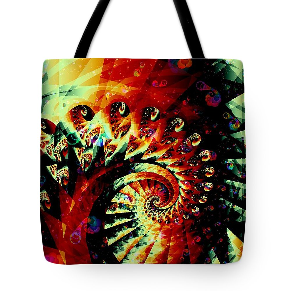 Malakhova Tote Bag featuring the digital art Joker by Anastasiya Malakhova