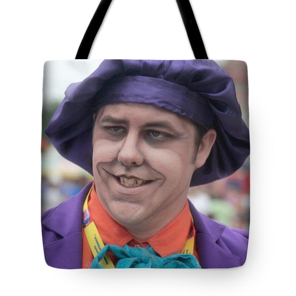 Joker Tote Bag featuring the photograph Joker by Dwight Cook