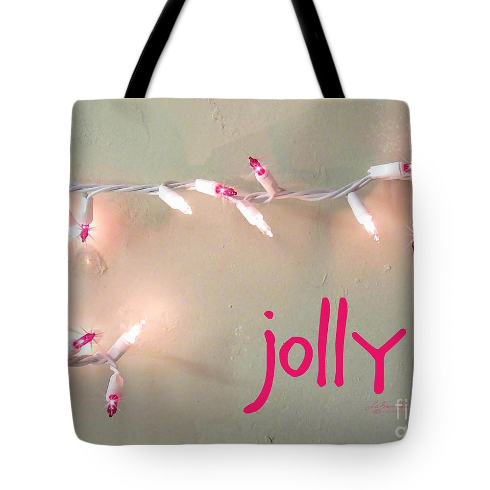 Card Tote Bag featuring the digital art Jolly by Lizi Beard-Ward