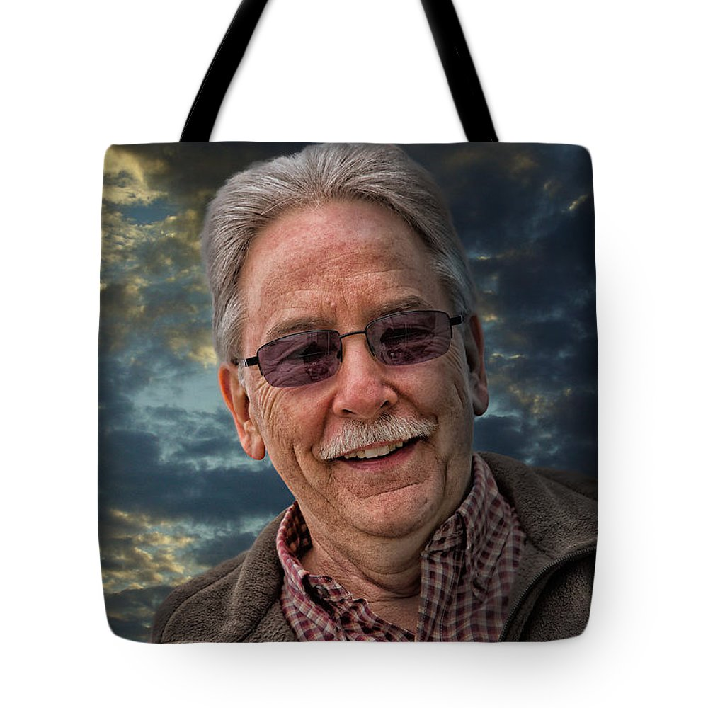 Closeup Tote Bag featuring the photograph Jon Without An H by John Herzog