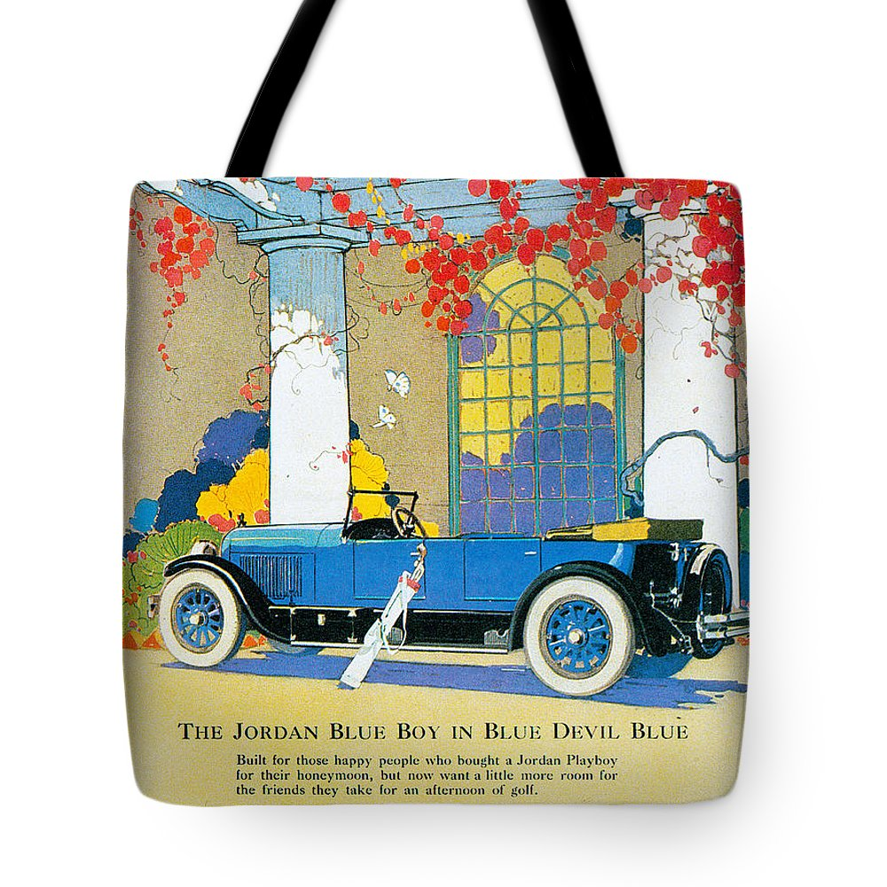 Jordan Motor Car Company Tote Bag for Sale by Vintage Automobile Ads ...