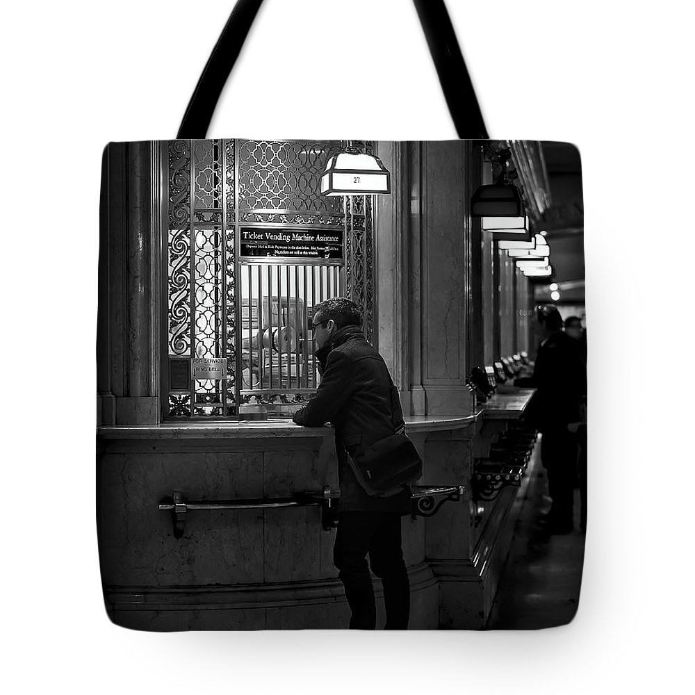 City Tote Bag featuring the photograph Journey by Eduard Moldoveanu
