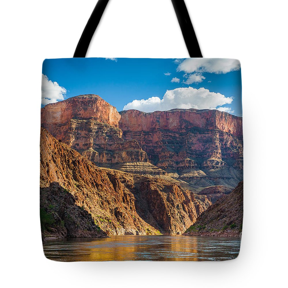 America Tote Bag featuring the photograph Journey Through The Grand Canyon by Inge Johnsson