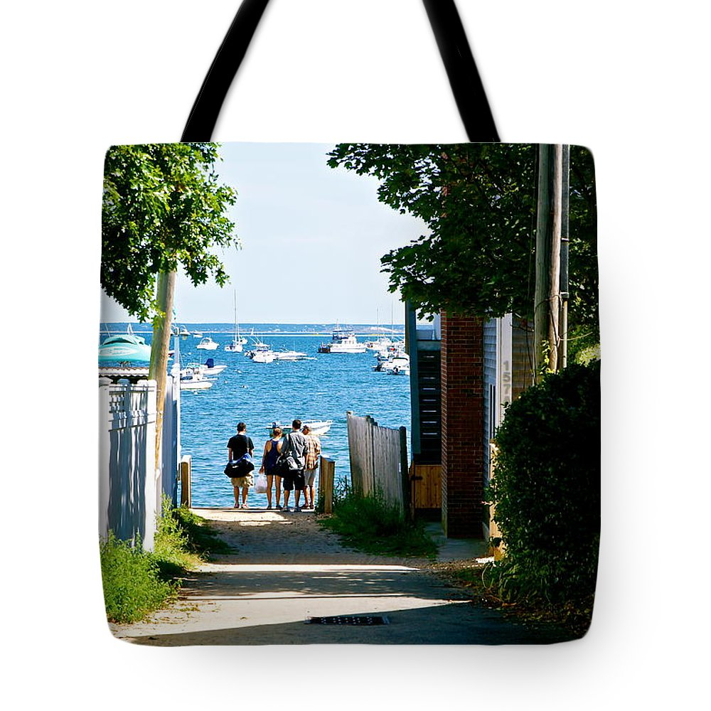 Provincetown Tote Bag featuring the photograph Journey's End by Ira Shander