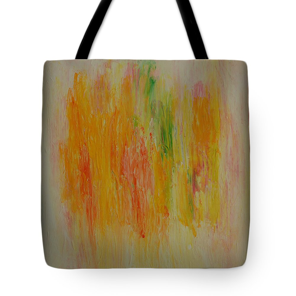Joy Tote Bag featuring the painting Joy by Sirenes