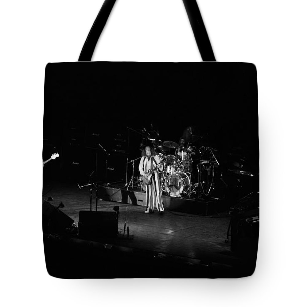 Jethro Tull Tote Bag featuring the photograph Jt #37 by Ben Upham
