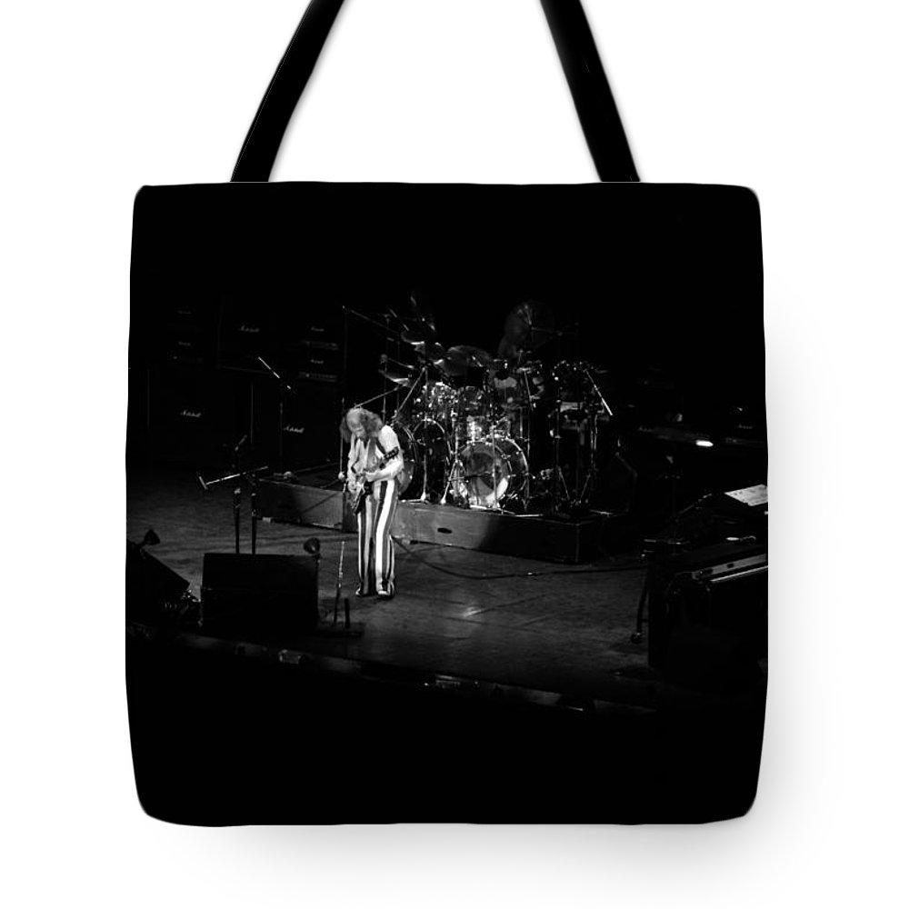 Jethro Tull Tote Bag featuring the photograph Jt #38 by Ben Upham