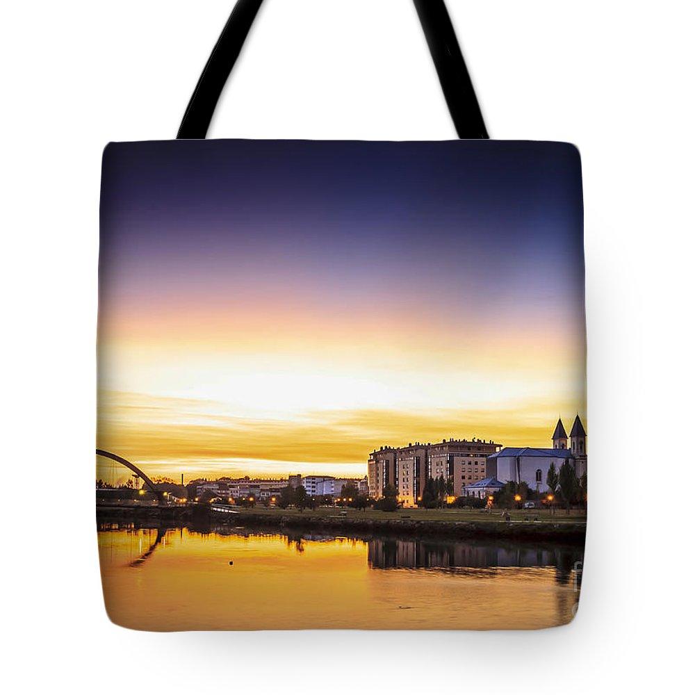 Naron Tote Bag featuring the photograph Jubia River Naron Galicia Spain by Pablo Avanzini