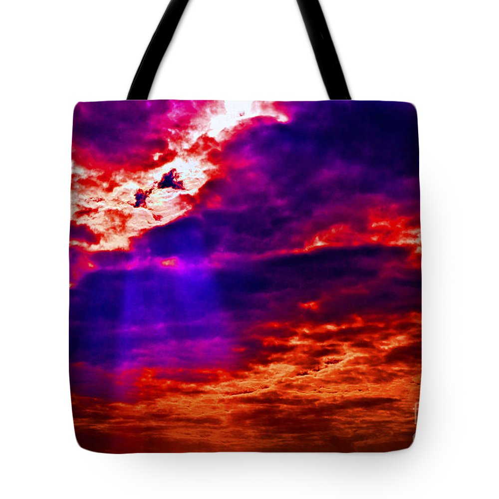 Clouds Tote Bag featuring the photograph Judgment Day by Paul W Faust - Impressions of Light