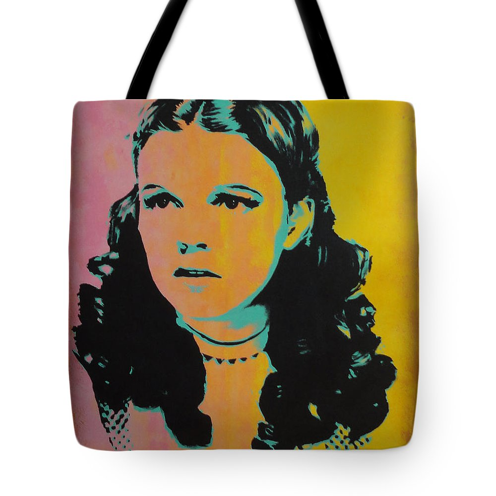 Judy Garland Tote Bag featuring the painting Judy Garland by Gary Hogben