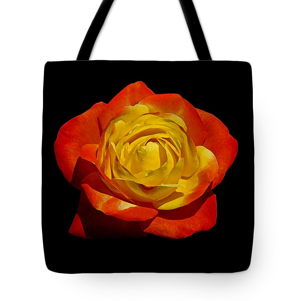 Beautiful Tote Bag featuring the photograph Judy Garland Rose by Ernie Echols