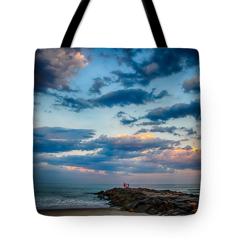 New Jersey Tote Bag featuring the photograph July Sky by Kristopher Schoenleber