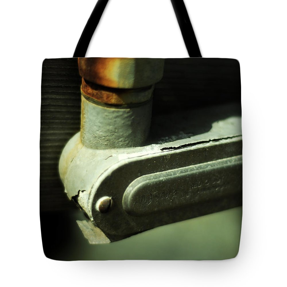 Junction Tote Bag featuring the photograph Junction by Rebecca Sherman