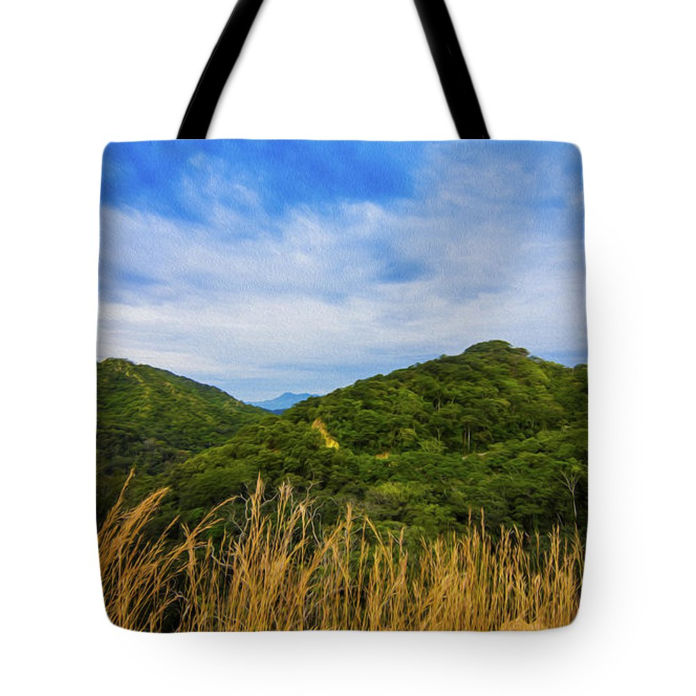 Jungle Tote Bag featuring the photograph Jungle by Aged Pixel