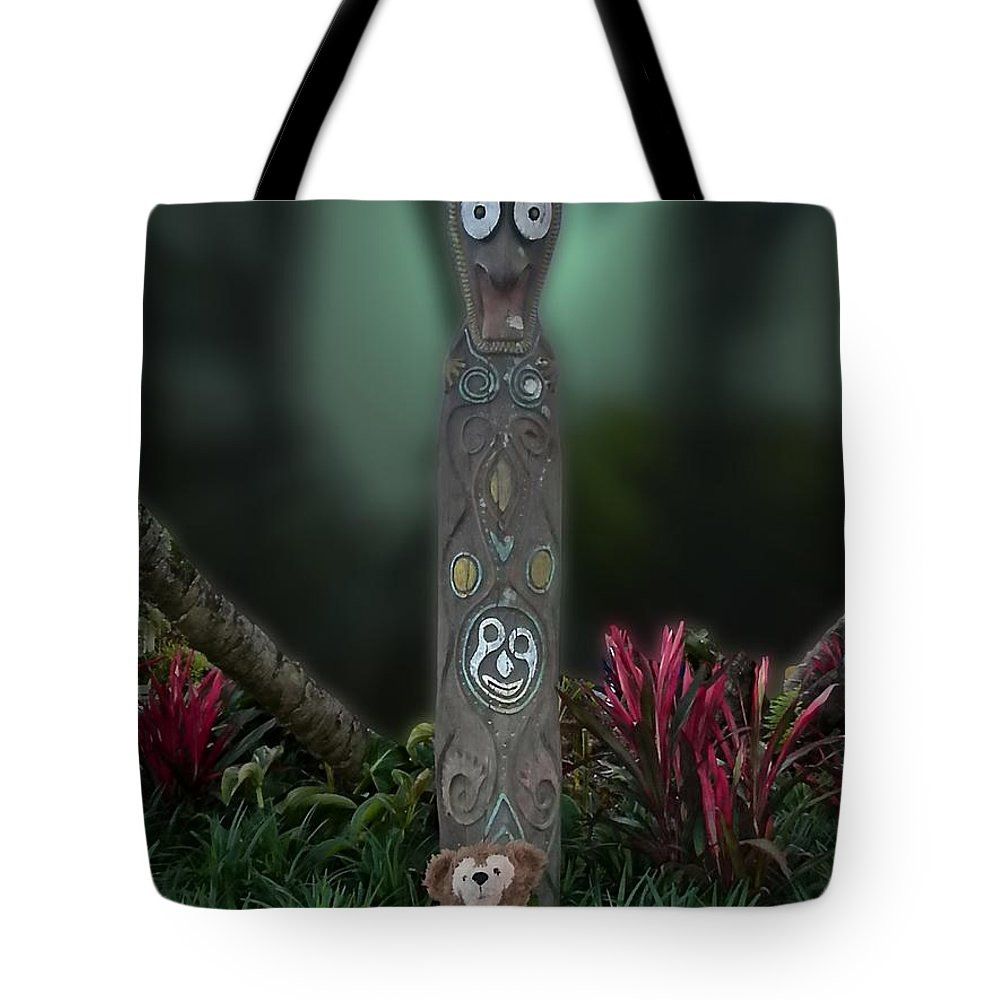 Fantasy Tote Bag featuring the photograph Jungle Bear 2 by Thomas Woolworth