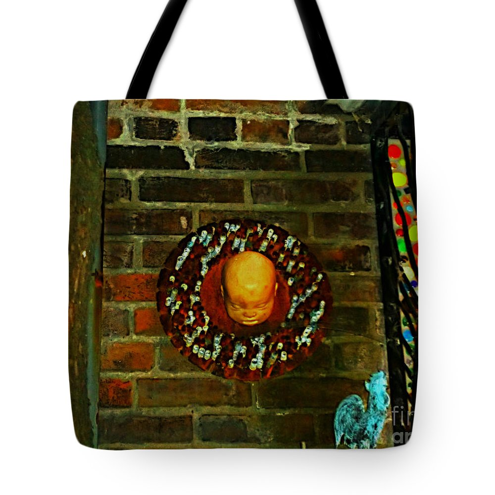 Tote Bag featuring the photograph Just A Lil Twisted by Kelly Awad