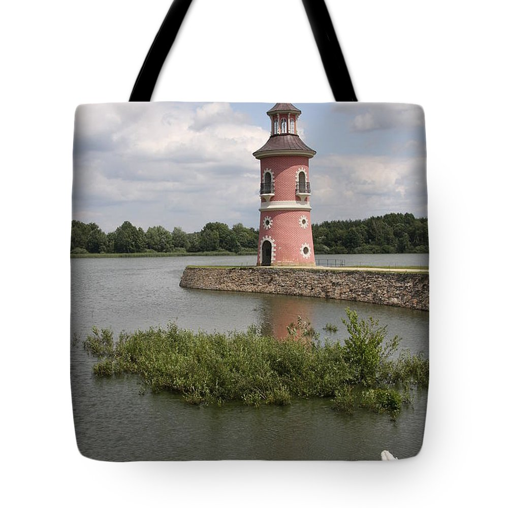 Lighthouse Tote Bag featuring the photograph Just For Fun by Christiane Schulze Art And Photography
