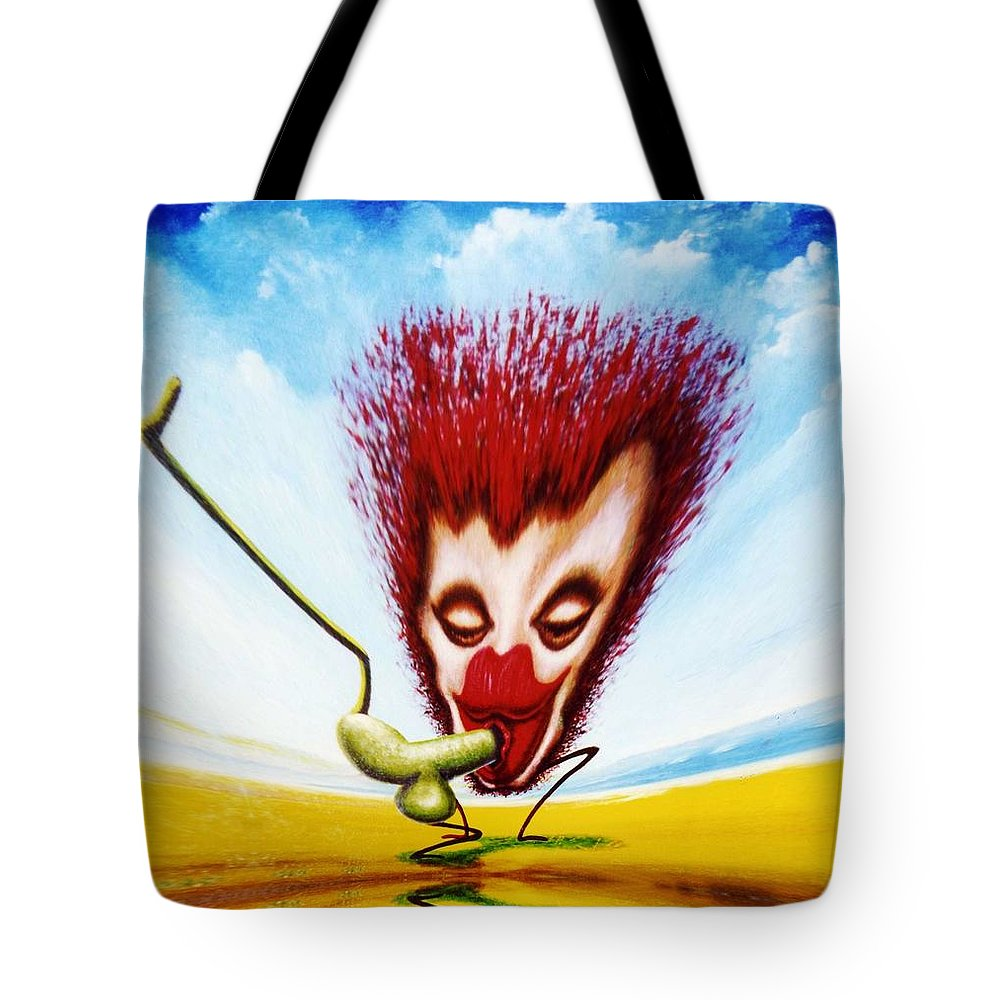 Genio Tote Bag featuring the mixed media Just Gorgeous by Genio GgXpress