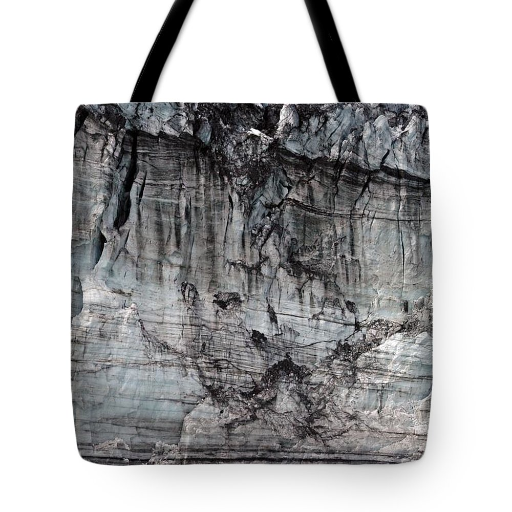 Alaska Tote Bag featuring the photograph Just Huge by Joseph Yarbrough
