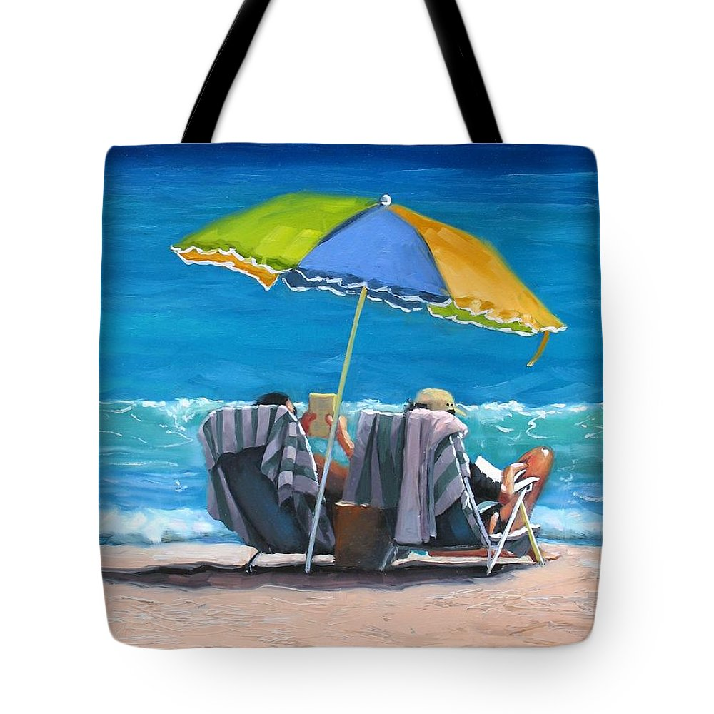 Laura Zanghetti Tote Bag featuring the painting Just Leave A Message Iv by Laura Lee Zanghetti