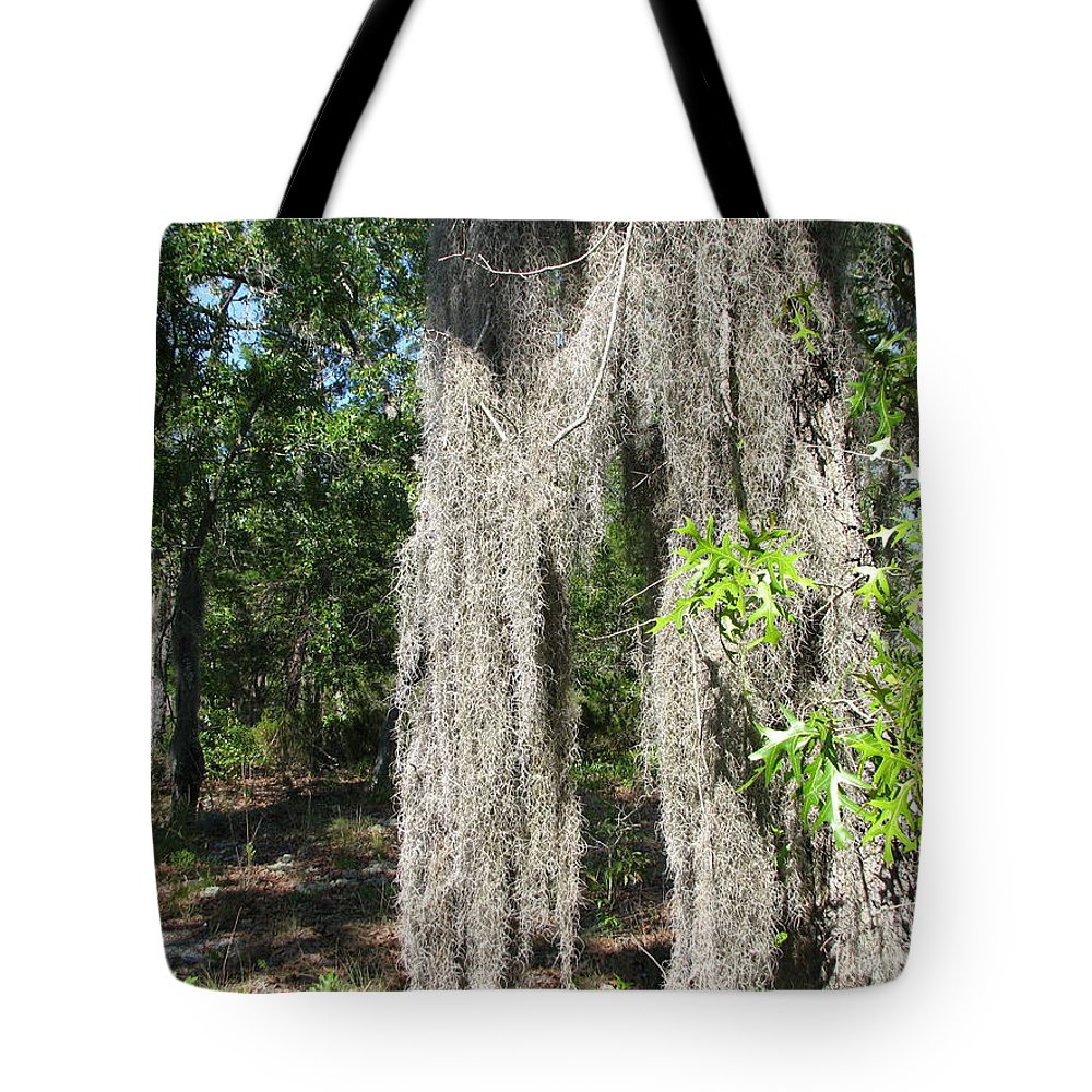 Patzer Tote Bag featuring the photograph Just The Backyard by Greg Patzer