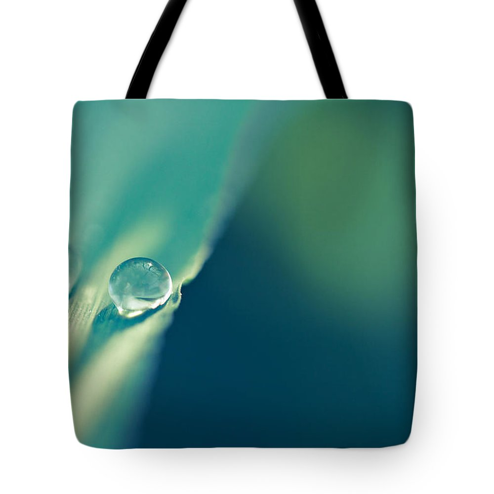 Droplets Tote Bag featuring the photograph Just The Two Of Us by Shane Holsclaw