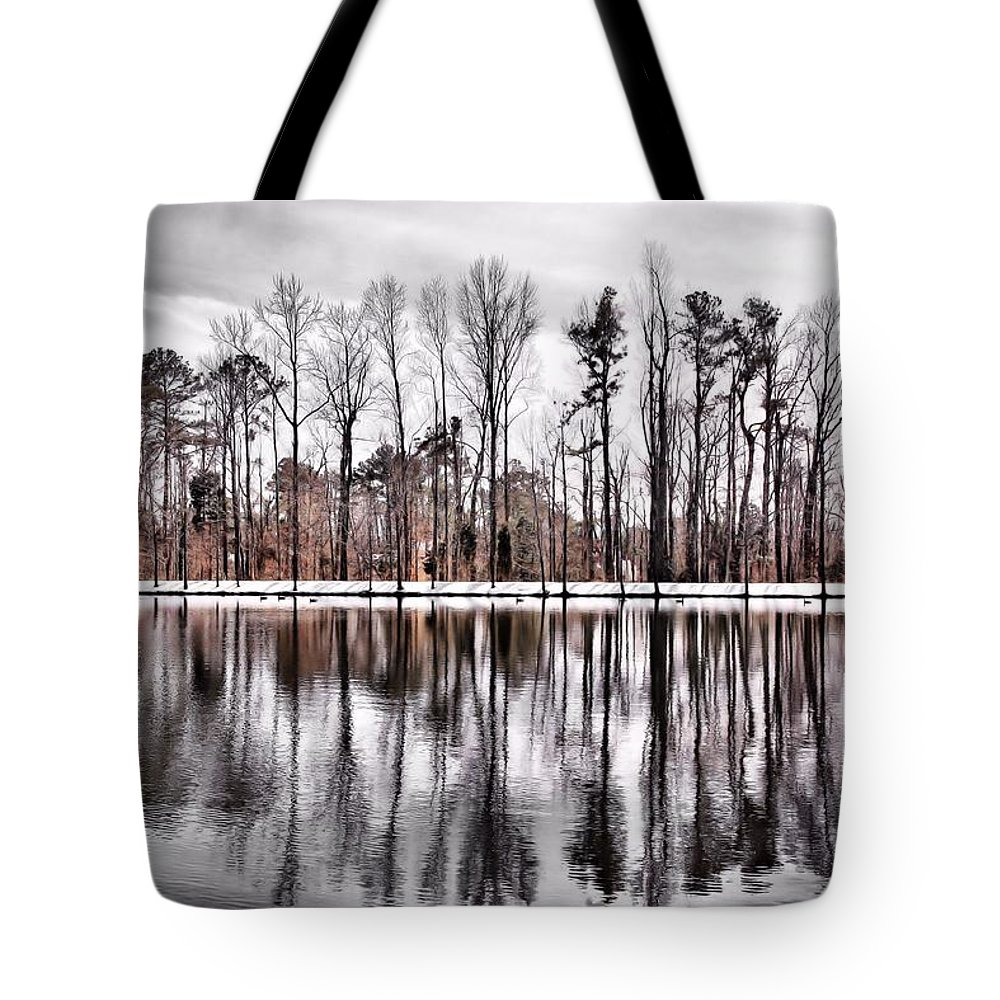 Trees Tote Bag featuring the photograph Just Trees by April Ann Canada - Raleigh Art Gallery