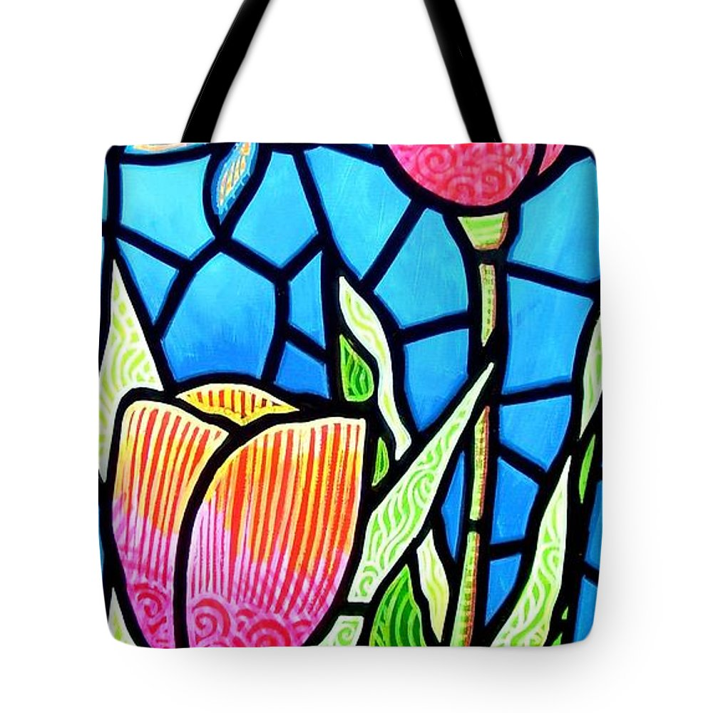 Butterflies Tote Bag featuring the painting Just Visiting by Jim Harris