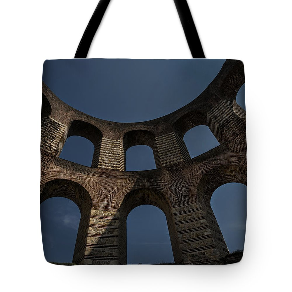 Ancient Tote Bag featuring the photograph Kaiserthermen by TouTouke A Y