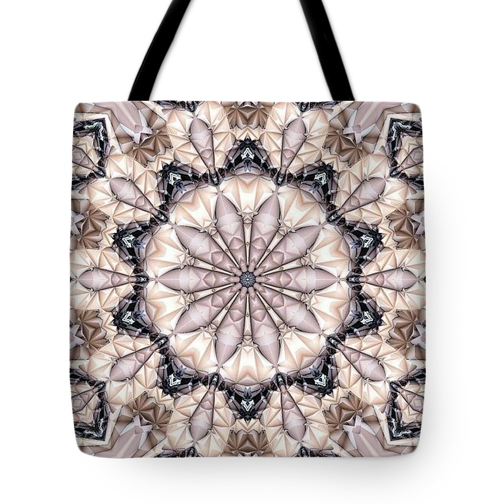 Kaleidoscope Tote Bag featuring the photograph Kaleidoscope 21 by Ron Bissett