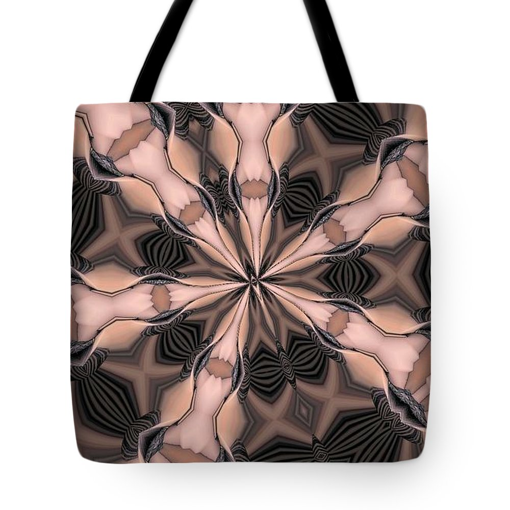 Kaleidoscope Tote Bag featuring the photograph Kaleidoscope 27 by Ron Bissett