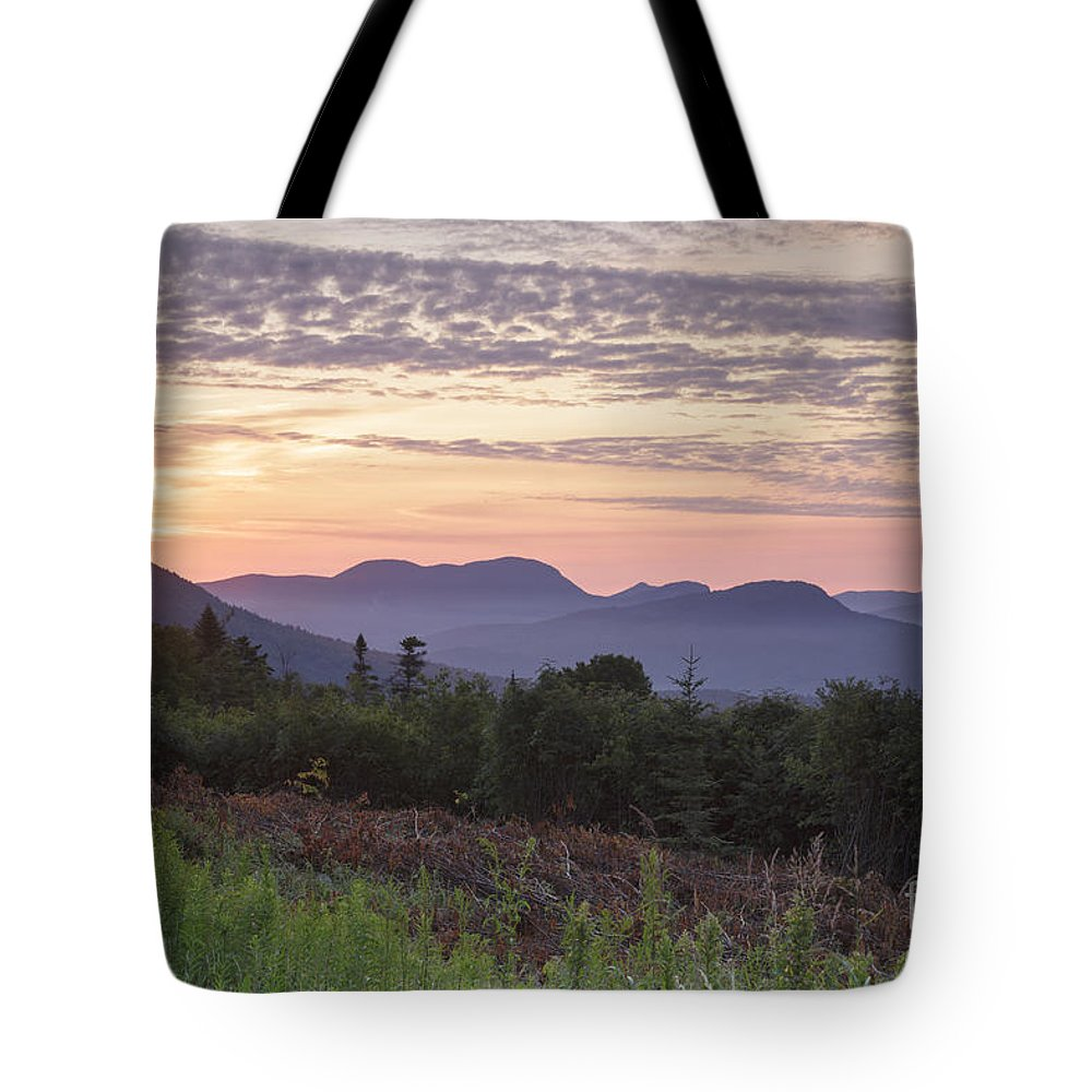 C.l. Graham Wangan Grounds Tote Bag featuring the photograph Kancamagus Highway - White Mountains New Hampshire USA by Erin Paul Donovan