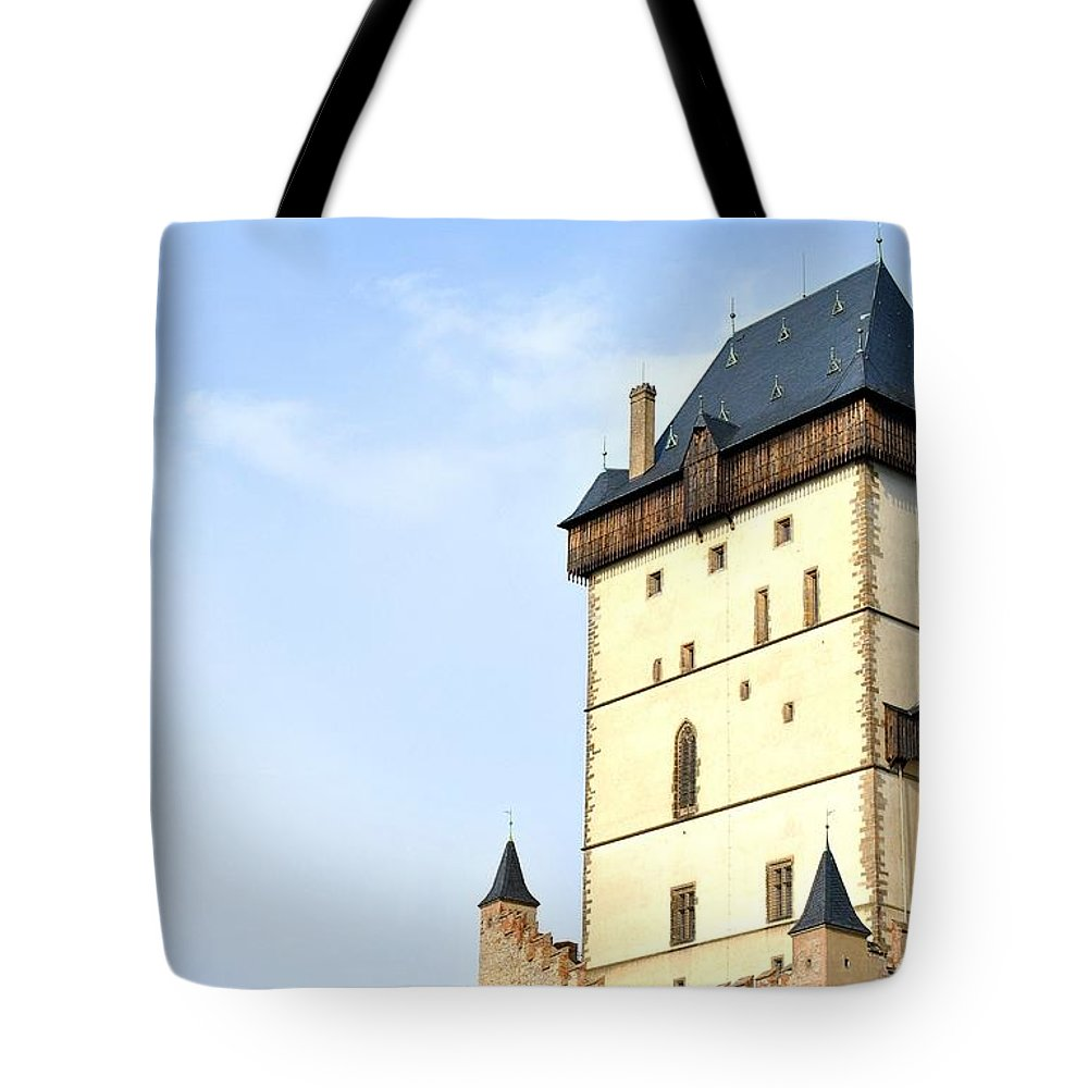 Empire Tote Bag featuring the photograph Karlstein by Martin Capek
