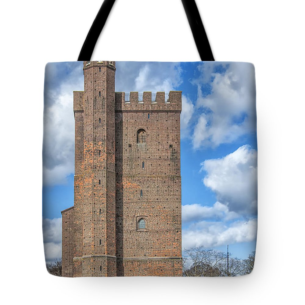 Sweden Tote Bag featuring the photograph Karnan Helsingborg 01 by Antony McAulay