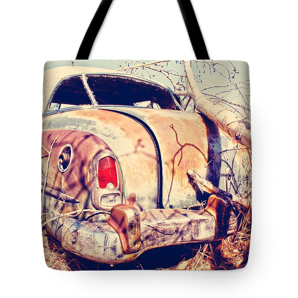 Car Tote Bag featuring the photograph Keep The Stash by The Artist Project