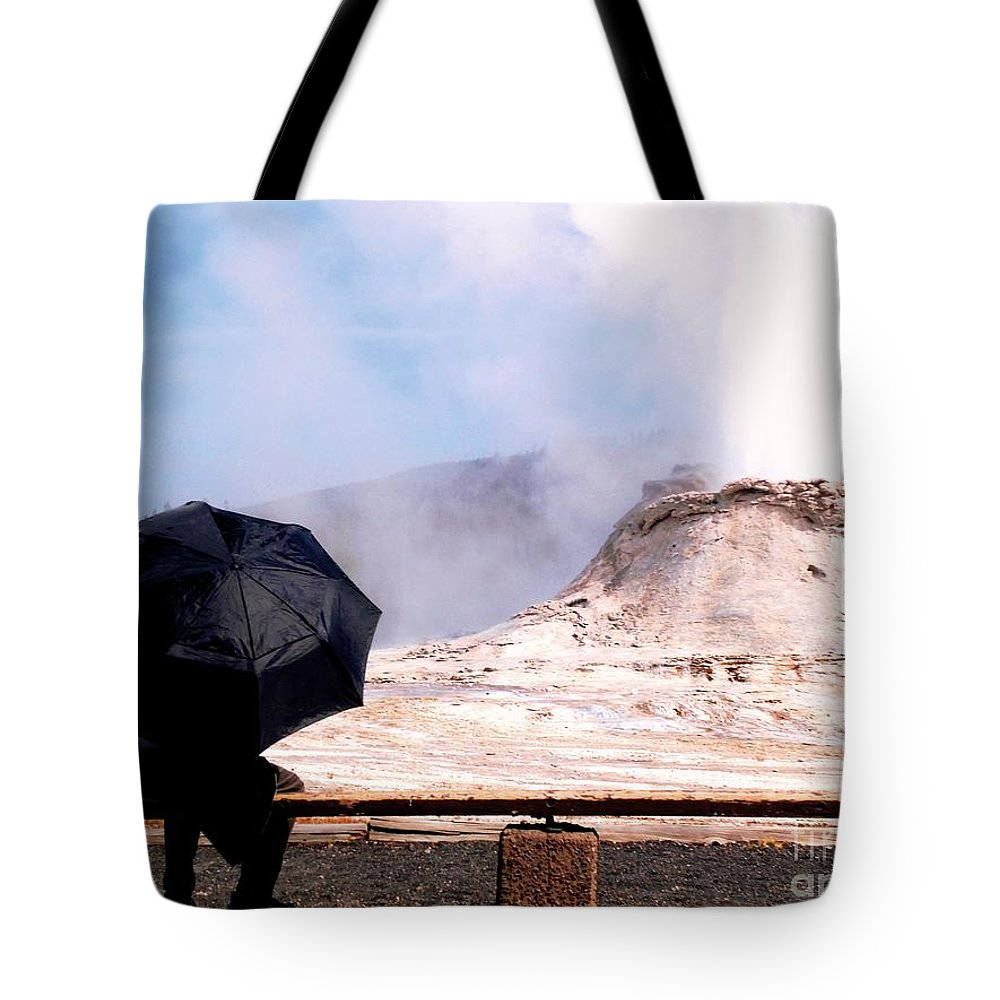 Castle Tote Bag featuring the photograph Keeping Watch Over The Castle by Ann Johndro-Collins