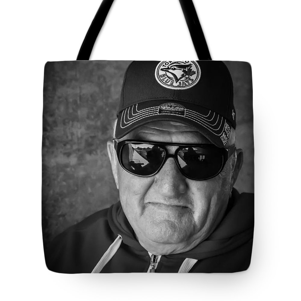 Tote Bag featuring the photograph Ken The Tenor Under A Bridge by John Herzog