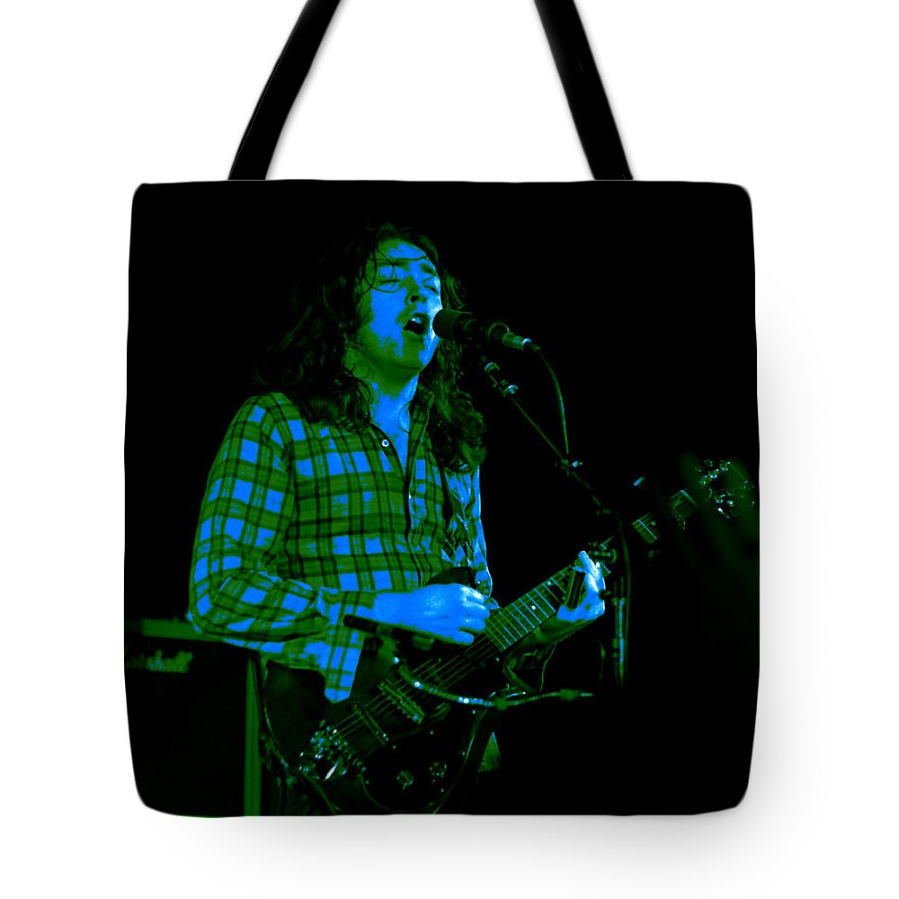 Slide Guitar Tote Bag featuring the photograph Kent #24 With Enhanced Colorization by Ben Upham
