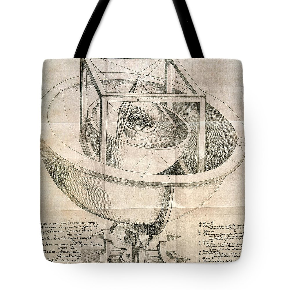 1596 Tote Bag featuring the photograph Keplers Universe, 1596 by Granger