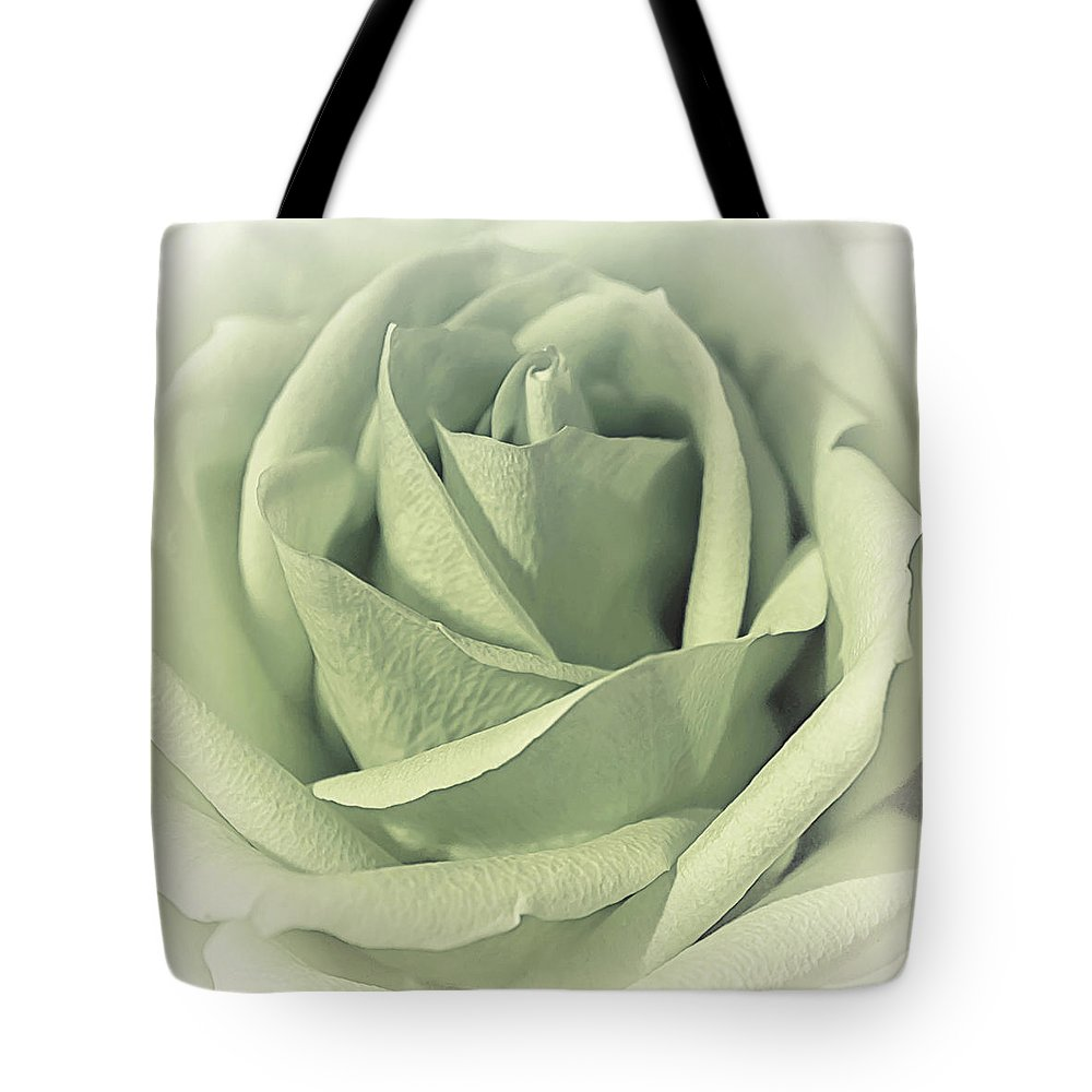 Floral Tote Bag featuring the photograph Key Lime Souffle by Darlene Kwiatkowski