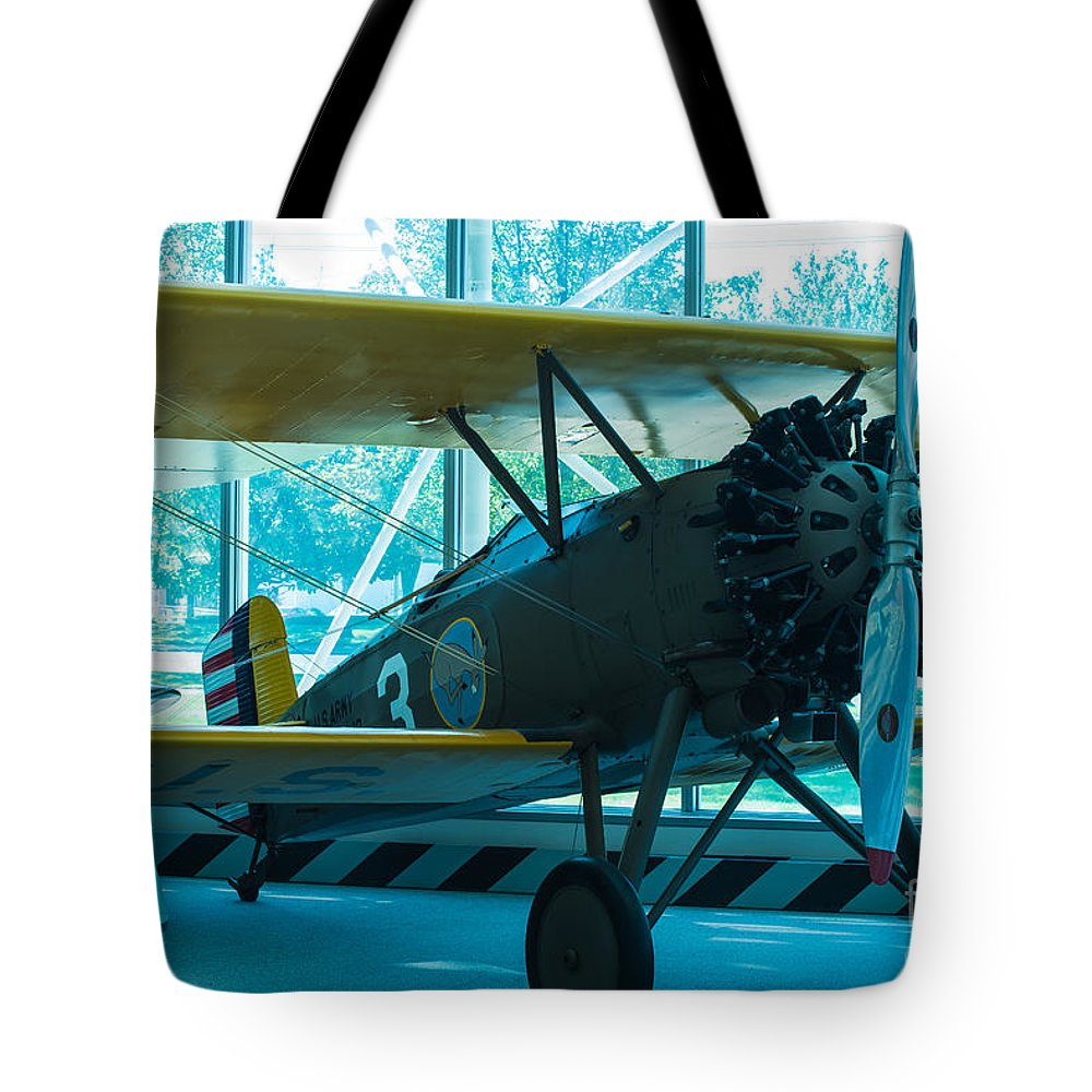 Aircraft Tote Bag featuring the photograph Kick In The Head by Rich Priest